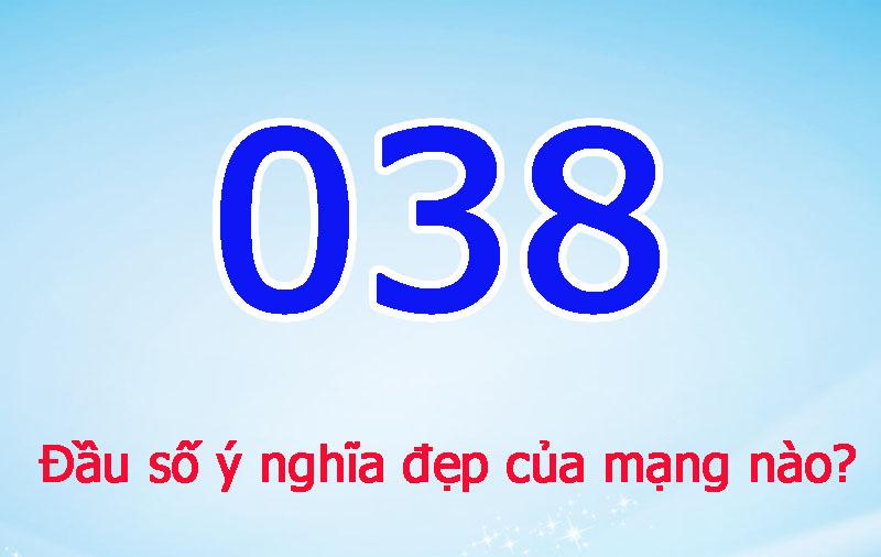 038 là sim số đẹp của nhà mạng nào