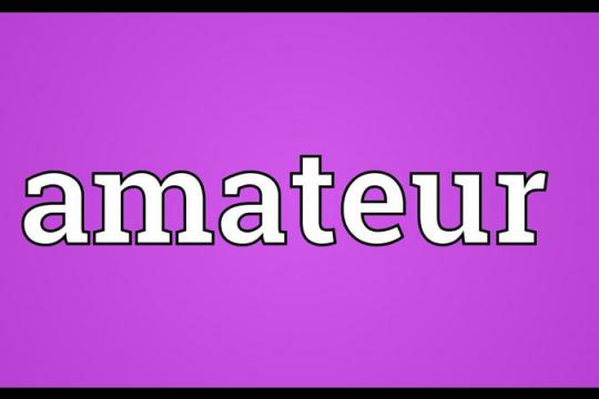 Amater là gì? Người amater có những biểu hiện gì?