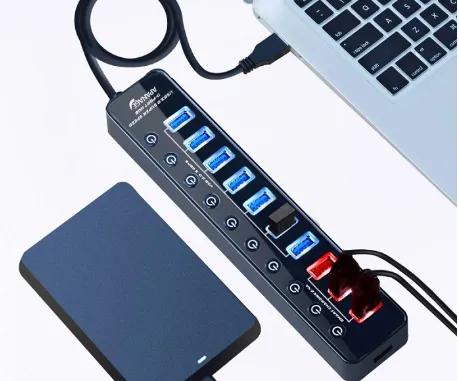 Apanage Powered USB 3.0 Hub
