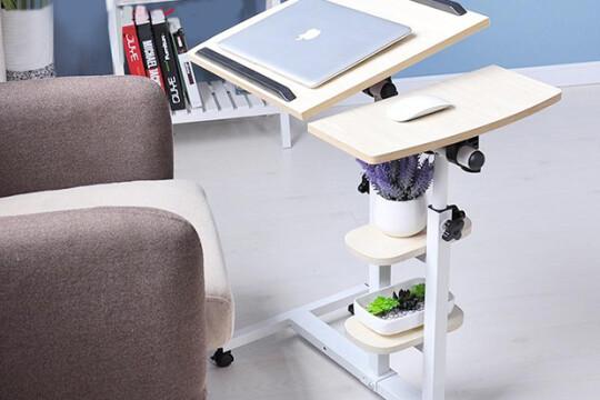 Review top 5 bàn để laptop nhỏ gọn, tiện lợi, tích hợp nhiều tính năng hiện đại