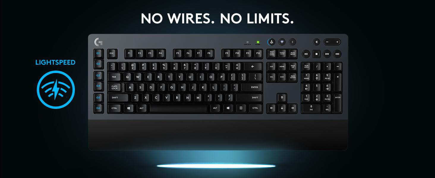 Bàn phím gaming Logitech G613 wireless