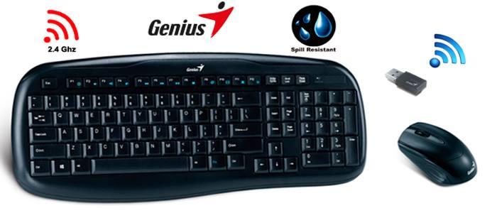 Bàn phím không dây Genius KB8000X