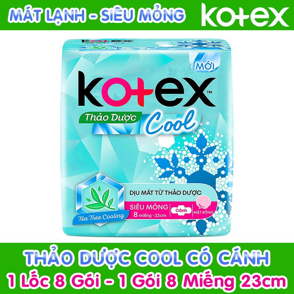 Băng vệ sinh Kotex Thảo dược Cool