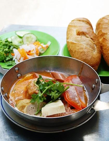 Bánh mì chảo Sài Gòn- bữa sáng dinh dưỡng