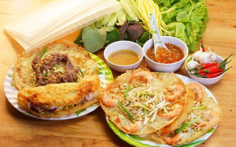Bánh xèo chợ Nguyễn Công Trứ
