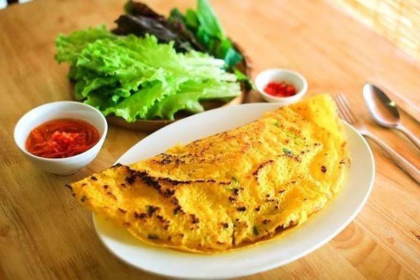 Bánh xèo - món ăn khiến nhiều thực khách nước ngoài khen ngợi