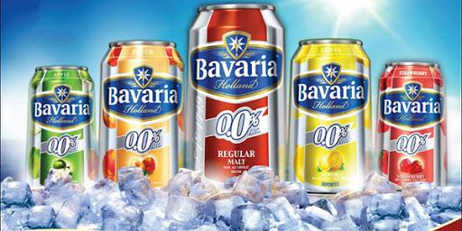 Bia không độ Bavaria nhập khẩu Hà Lan