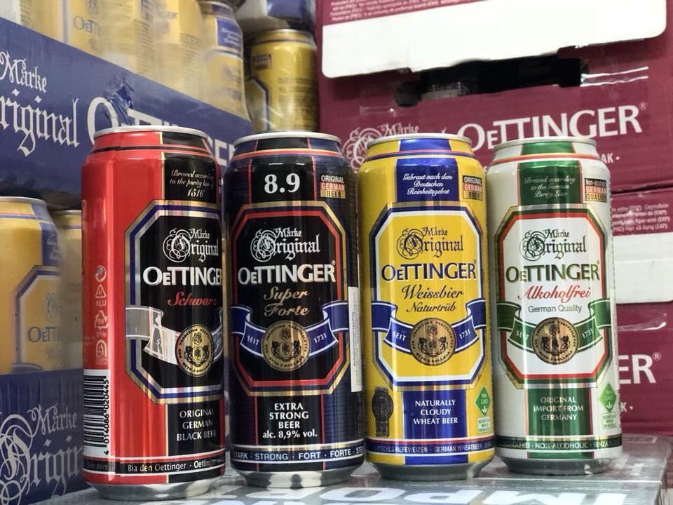 Bia không độ Oettinger