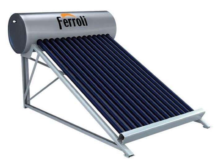 Bình nước nóng năng lượng mặt trời Ferroli 200L 16 ống