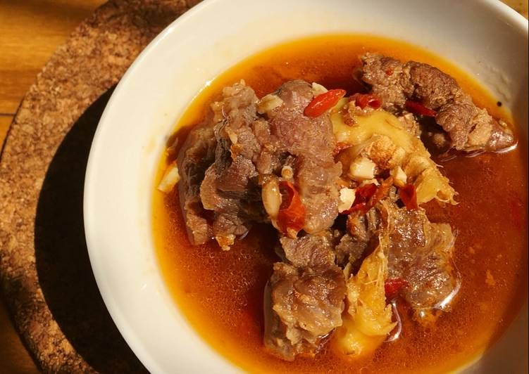 Bò kho gừng sả - Sự hoà quyện hoàn hảo của gia vị và thịt bò