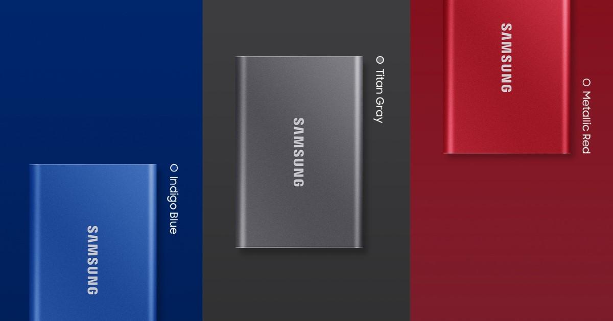 Bộ nhớ di động Samsung T7 Portable