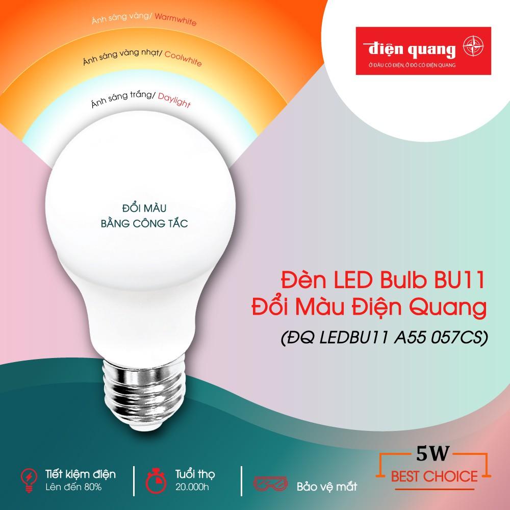 Bóng đèn Led Bulb Điện Quang ĐQ LEDBU11A60 5W