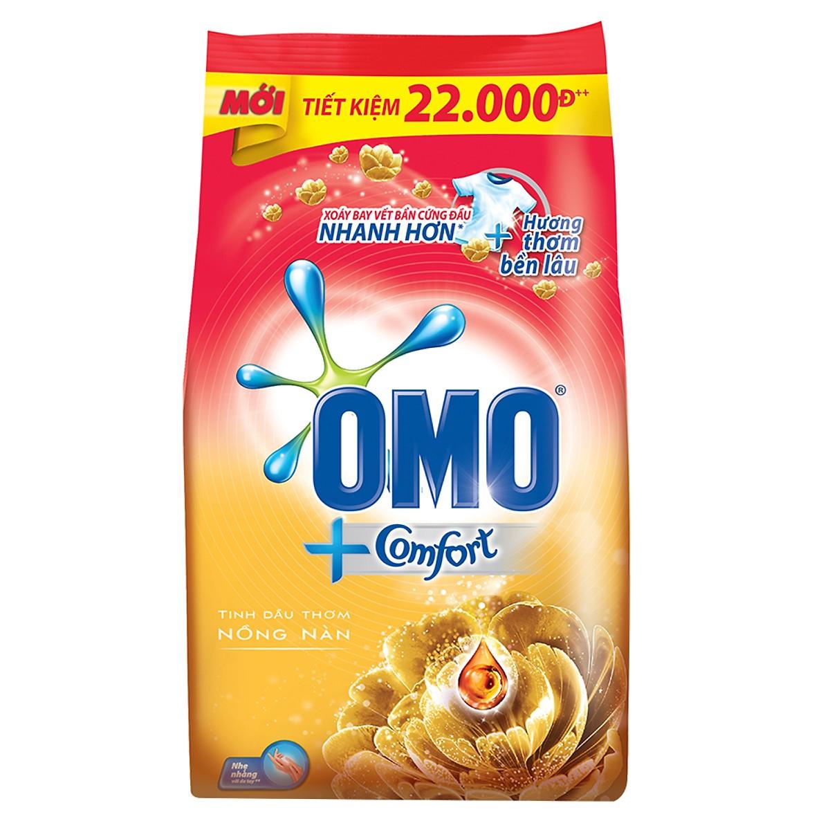 Bột giặt OMO Comfort tinh dầu thơm 32004710