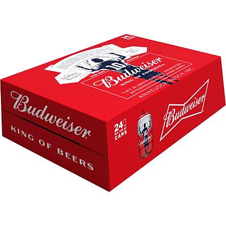 Budweiser thùng 24 lon