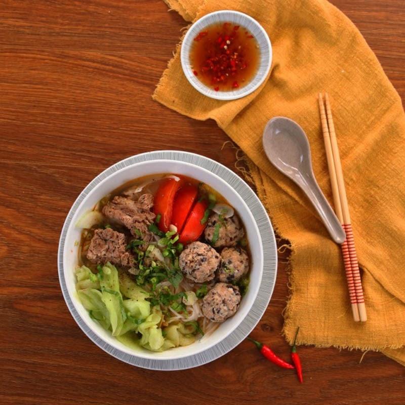 Bún dọc mùng- món ăn dân dã người Hà Nội