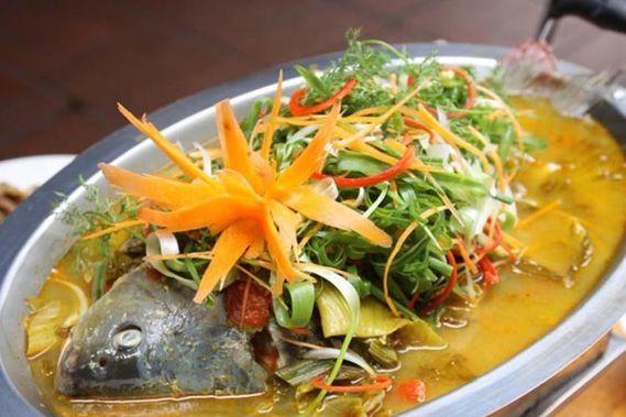 Cá chép om dưa – món ăn thơm ngon, phù hợp với mọi gia đình