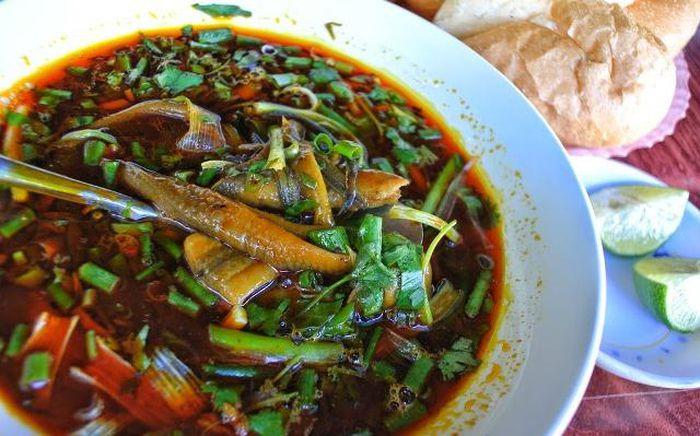 Cách chế biến món súp lươn