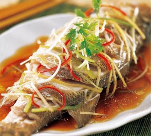 Cách làm cá hấp bia ngải cứu tốt cho sức khỏe