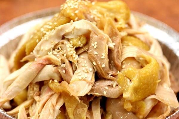 Cách làm gà hấp muối sả