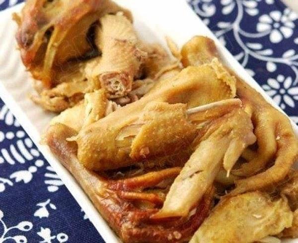 Cách làm gà hấp muối theo kiểu người Hoa