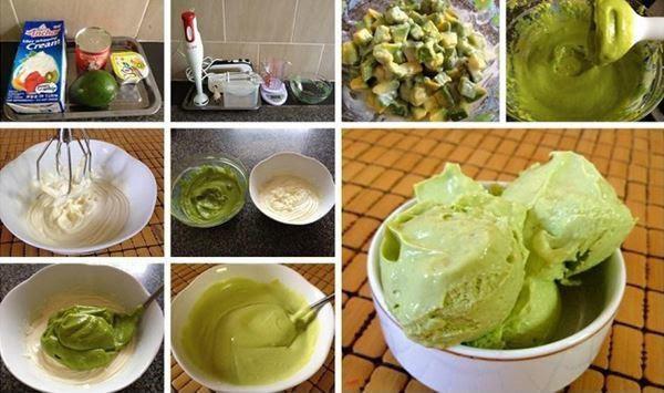 Cách làm kem bơ truyền thống