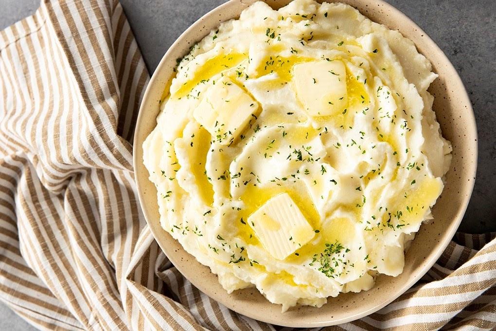 Cách làm khoai tây nghiền truyền thống