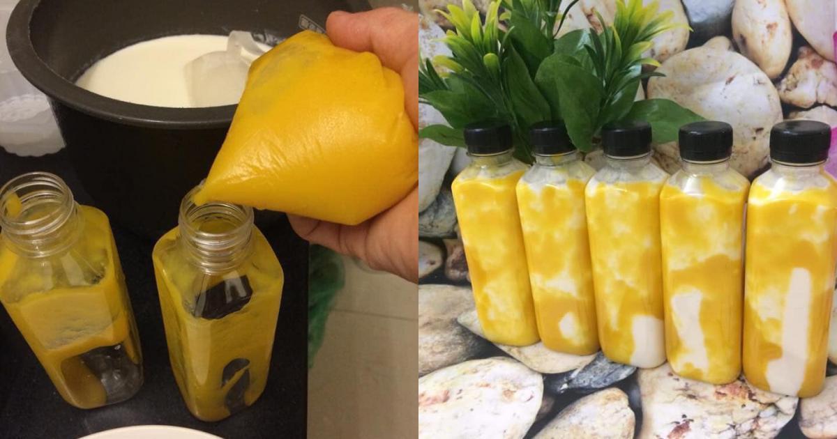 Cách làm sữa chua uống hoa quả
