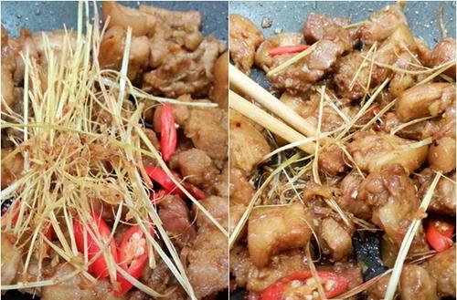 Cách làm thịt rang cháy cạnh mặn ngọt