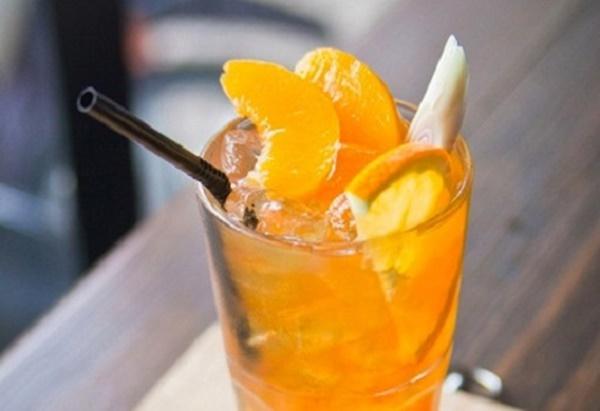Cách thức chế biến món thức uống trà đào cam sả