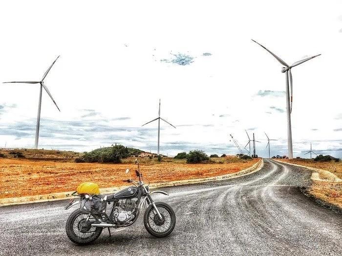 Cánh đồng quạt gió Tuy Phong 2