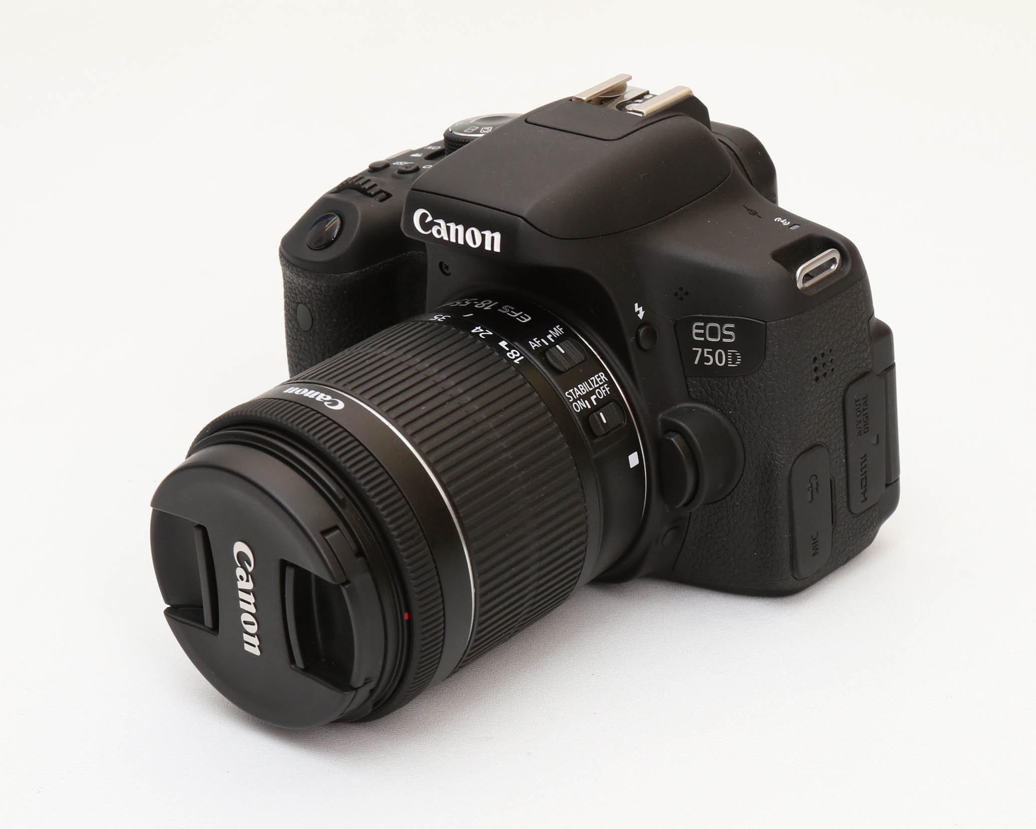 Canon 750D lens 18-55 IS STM