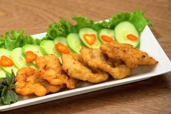 Chả mực- món ăn đặc sản Quảng Ninh