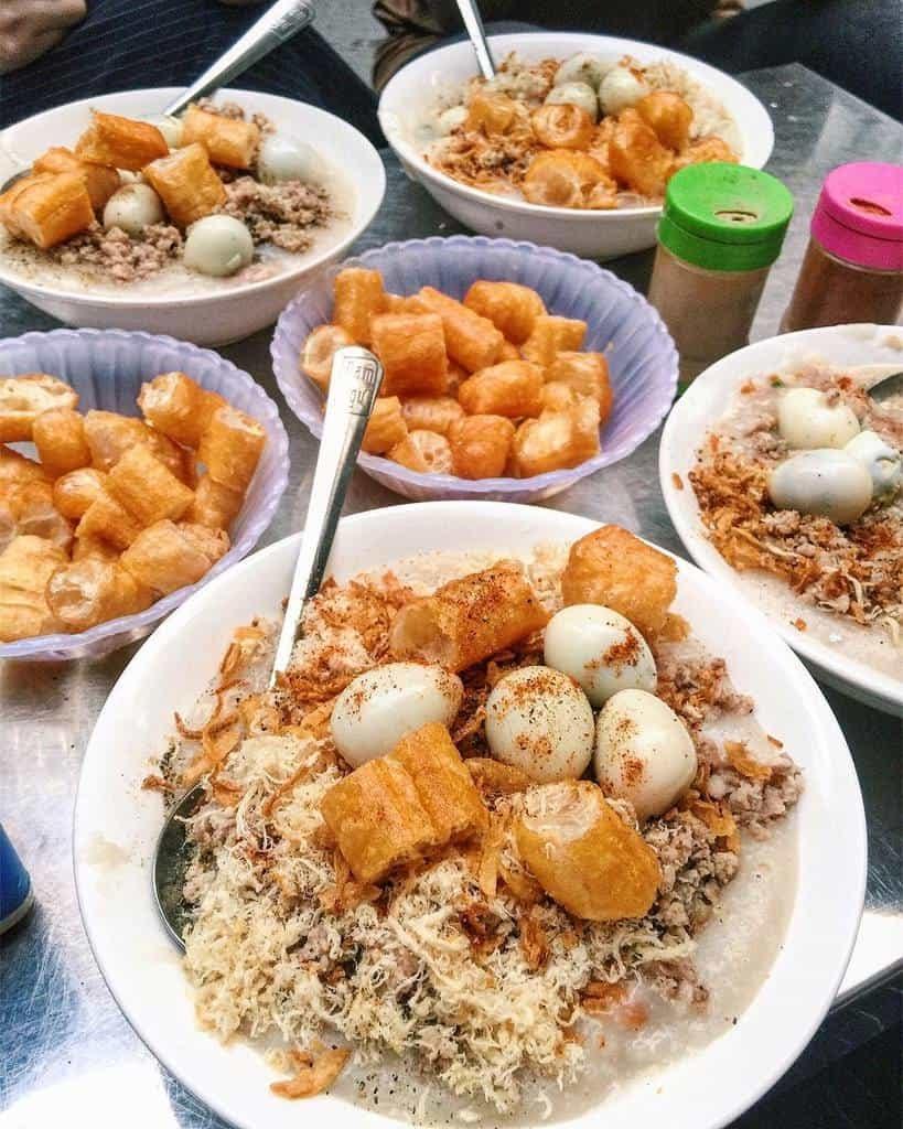 Cháo sườn sụn - món ăn trứ danh của người Hà Thành