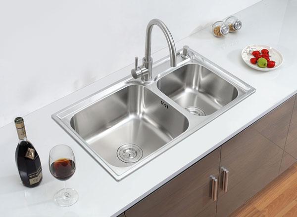 Chậu rửa chén Inox 2 hộc Eurolife EL-C5 | giatotqua.vn