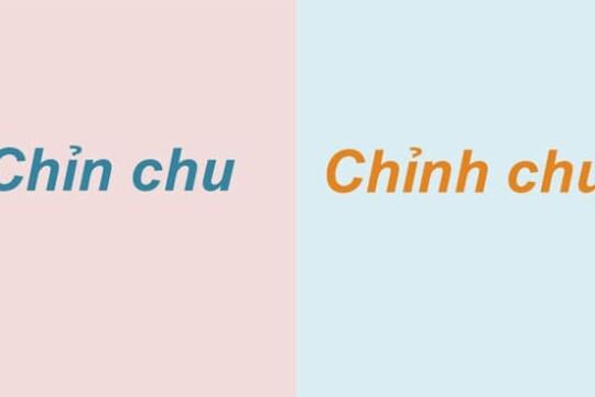 Chỉn chu hay chỉnh chu? Sử dụng từ nào mới đúng chính tả tiếng Việt
