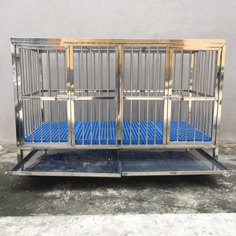 Chuồng chó 2 ngăn Thái Lan