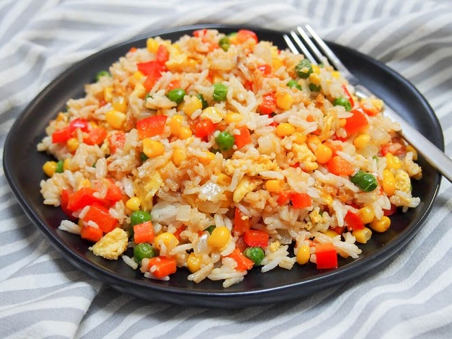 Cơm rang - Món cơm ăn ngon tuyệt đỉnh