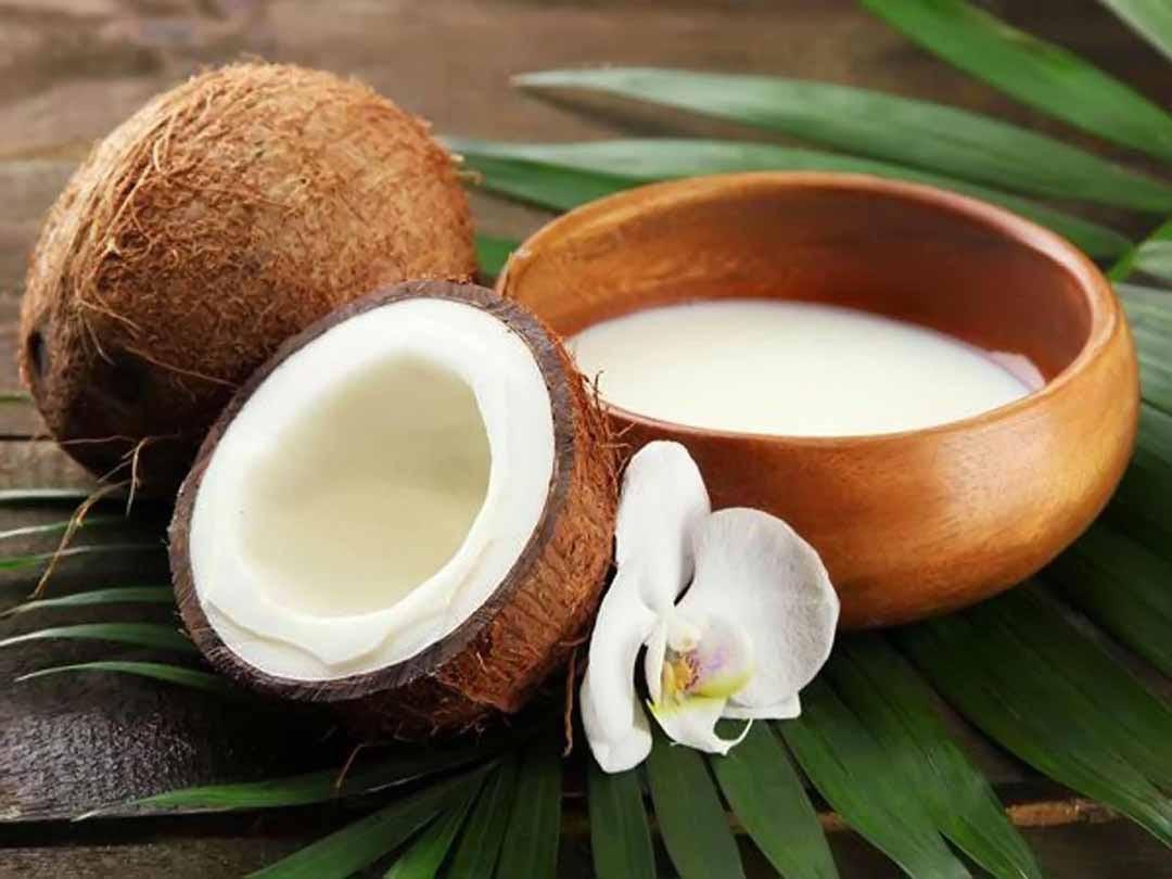 Công dụng của nước cốt dừa