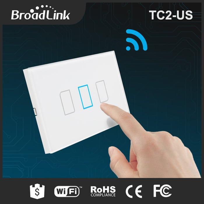 Công tắc thông minh Broadlink TC2 US