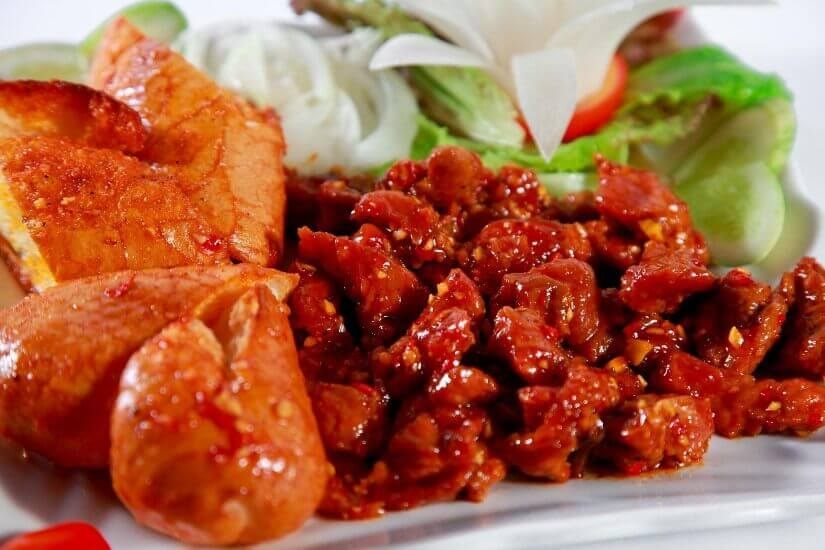 Đặc sản Nha Trang Bò nướng Lạc Cảnh