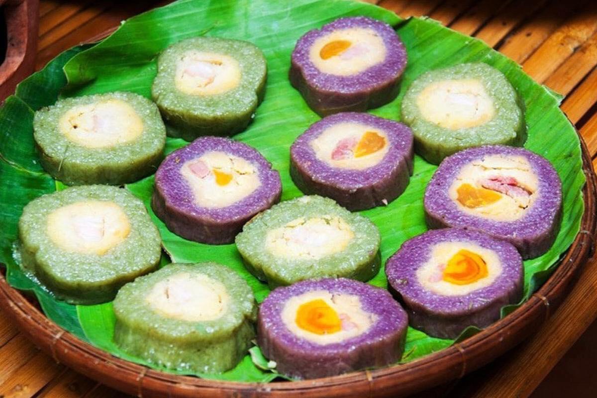 Đặc sản Phú Quốc bánh tét mật cật