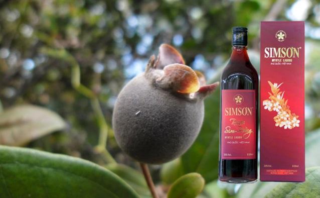 Đặc sản Phú Quốc rượu sim