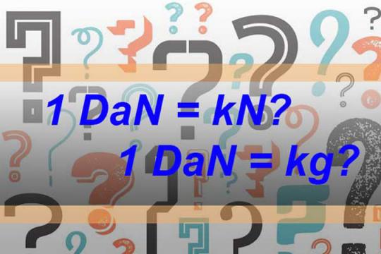 1 DaN bằng bao nhiêu? Cách chuyển đổi DaN nhanh nhất
