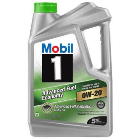 dau nhot Mobil 1 Advanced Fuel Economy