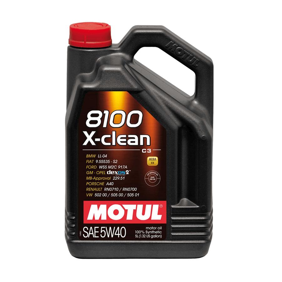 dau nhot Motul 8100 X-CLEAN