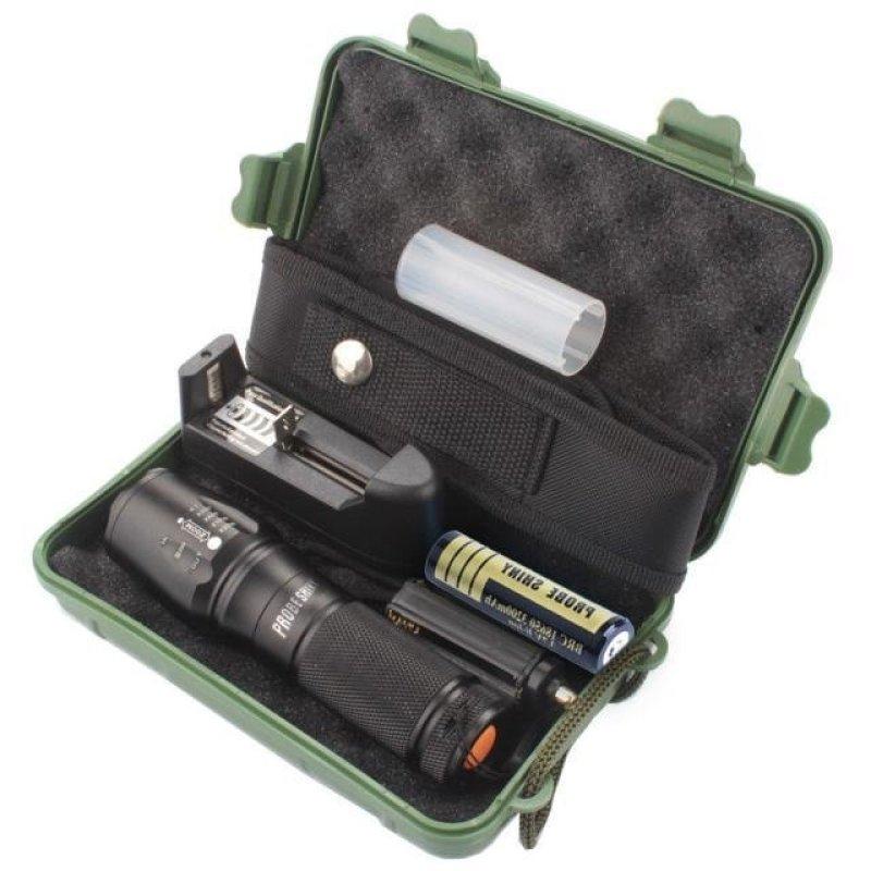 Đèn pin siêu sáng X800