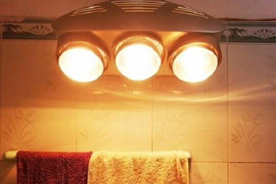 Review top 5 sản phẩm đèn sưởi nhà tắm tiết kiệm tối đa năng lượng