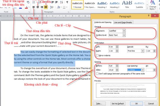 Định dạng văn bản là gì? Cách thức định dạng văn bản chuẩn
