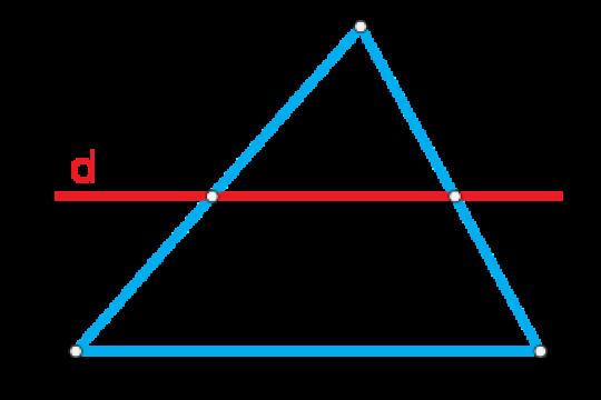 Định lý talet là gì? Ứng dụng định lý Talet vào toán học như thế nào?