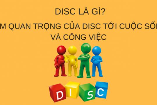 Những thông tin về DISC là gì? Hướng dẫn cách đọc biểu đồ DISC